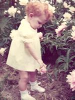 Sarami in flower garden