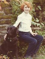 Sarami with dog